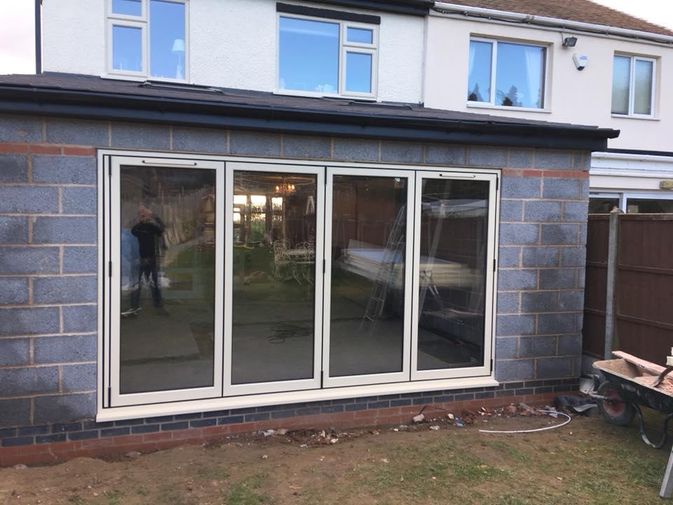 Clear View Bi-Folding Doors Coventry